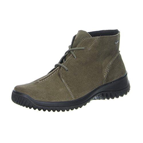 Legero - Sneaker a collo alto 30057043 Donna (37.5 (4.5 UK), Grigio (Grau (Taupe 43)))