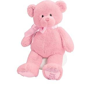 Gund Baby My First Teddy-Large-Pink