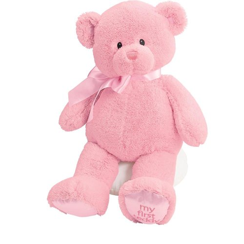 Gund Baby My First Teddy-Large-Pink
