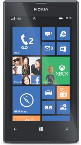 Nokia Lumia 520 (AT&T Go Phone) No Annual Contract (Discontinued by Manufacturer) (New Mobile Phones compare prices)