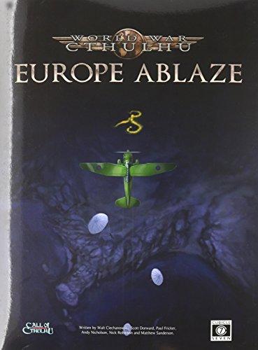 World War Cthulhu Europe Ablaze PDF