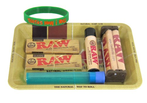 Bundle-7-Items-RAW-Rolling-Paper-Mini-Rolling-Tray-Sampler