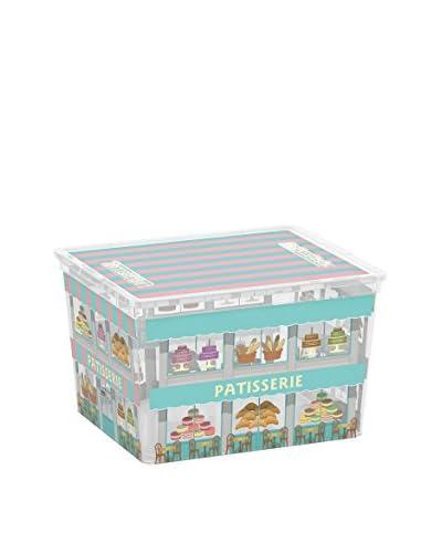 Kis Set Contenitore Organizzazione Spazi 6 Pezzi C-Box Cube _ Boutiques Multicolore