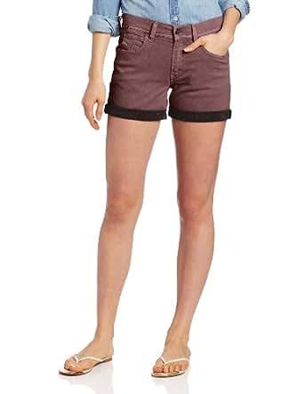 Diesel Women's Short Pant, Mauve, 24