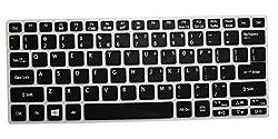 Translucent Black Ultra Thin Soft Silicone Keyboard Cover Protector Skin Acer Aspire V5-122 V5-122P V5-132 V5-132P V3-111P V3-112P V13 V3-331 V3-371 E11 E3-111 E3-112 ES1-111M, Aspire Switch 11 11.6