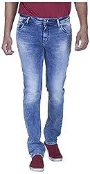 INTEGRITI Men's Regular Fit Jeans (ATTITUDE-216.S LNFT STN_36, Blue, 36)