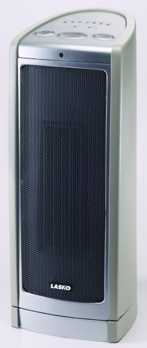 Lasko 753450 17-1/2-Inch Oscillating Ceramic Tower Heater