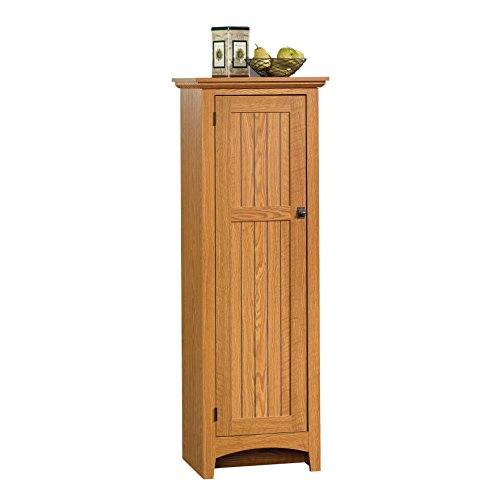 Sauder summer home pantry carolina oak finish