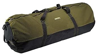 "Super Tough Heavyweight Cotton Canvas Duffle Bag - Size Giant, 48"" x 20"""