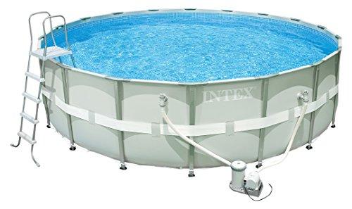Ultra Frame Pool Set, Ø 488 x 122 cm, mit Filterpumpe