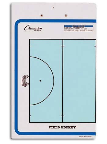 Champion Sports Dry-Erase Football Double Sided Coaches Clipboard (Football Coach Board compare prices)