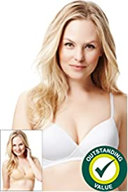 2 Pack Non-Wired T-Shirt A-D Bras