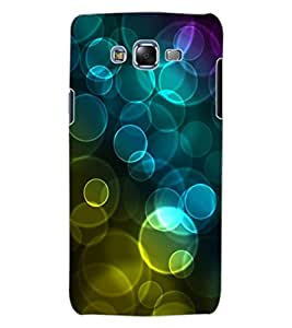ColourCraft Beautiful Bubbles Design Back Case Cover for SAMSUNG GALAXY J7