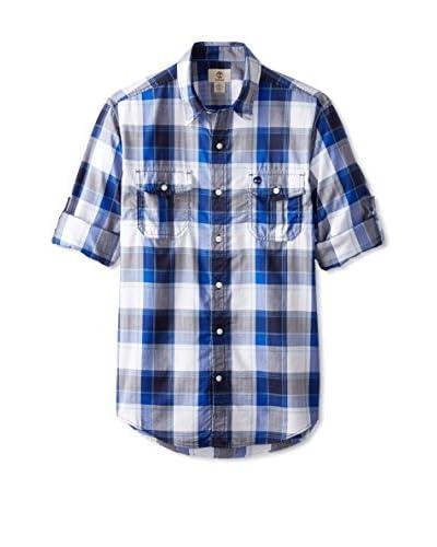 Timberland Men's Checked Long Sleeve Shirt