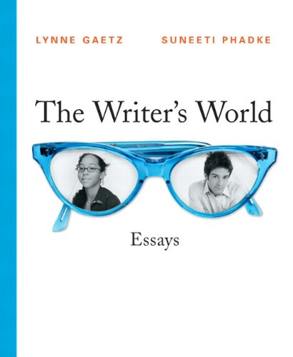 The Writer's World: Essays (with MyWritingLab Student Access Code Card)