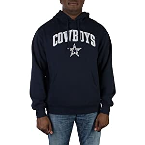 Dallas Cowboys Navy Blue Spirit Hooded Sweatshirt Hoody by Dallas Cowboys Team Apparel