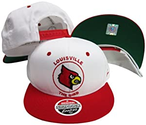 Louisville Cardinals The Bird Mascot Plastic Snapback Adjustable Plastic Snap Back... by Zephyr