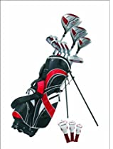 Precise GT-R Ladies Petite Complete Set (Ladies, Right Hand, Red, -1-inch)