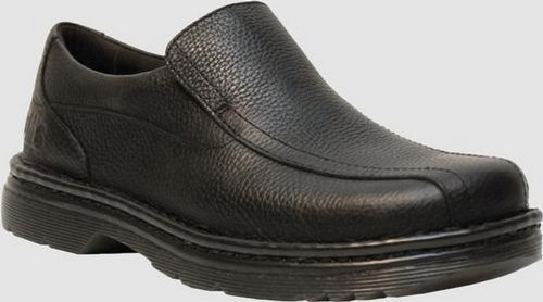 Dr. Martens Dr. Martens Mens NORFOLK Slip On Shoe. Color-Style: Black. UK Size: 8