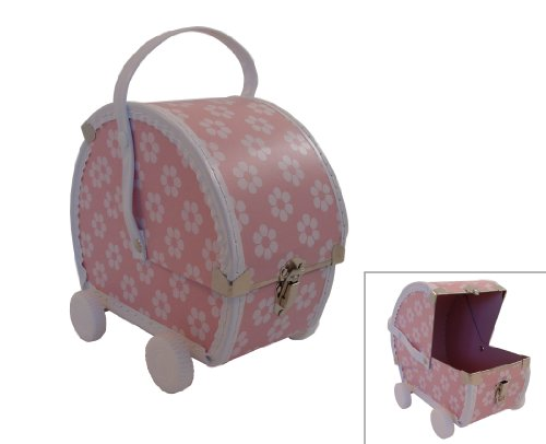 kidSTYLE Pram Case- Pink/White