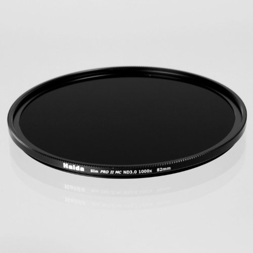 Camera Plus / Haida -Professional 82mm Slim PRO II MC Neutral Density ND 3.0 Filter - 10 Stop/ Schott glass Black Friday & Cyber Monday