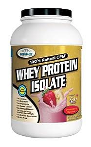Cfm Whey Protein Isolate Diet Supplement, Strawberry Banana, 2 Pound
