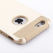 iPhone 6 Case, Technext020 [Non-Slip] [Perfect-Fit] iPhone 6 (4.7) Case [Hard Plastic] [Silicone] Protective Case Rubber Bumper Slim [Heavy Duty] [Dual-Layer] Cover for iPhone 6 (4.7) (2014)