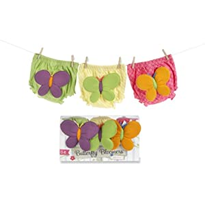 Baby Aspen  Butterlfy Bloomers For Fluttering Bums (0 - 6 Months)