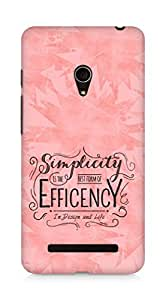 Amez Simplicity is the best form of Efficency Back Cover For Asus Zenfone 5