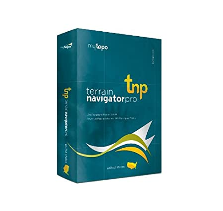 MyTopo Terrain Navigator Pro Pennsylvania Map DVD-ROM (Windows)