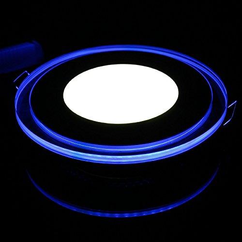 Sunsbell Led Panel Light Ceiling Lighting 10W Round Led Acrylic Downlight Spotlight Lamp Recessed Lighting Fixture Lamp Cool White