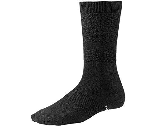 smartwool-womens-texture-crew-socks-black-small