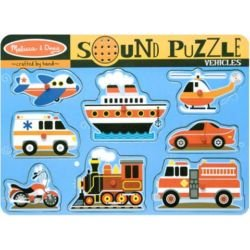 Cheap Melissa & Doug Vehicles Sound Puzzle by Melissa and Doug (B003L3XGI6)