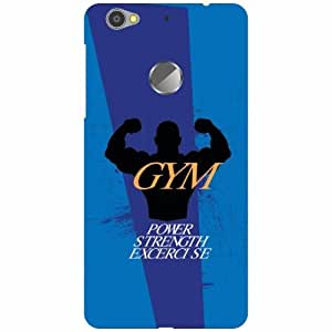 LeEco Le 1s Eco Back Cover - GYM Designer Cases