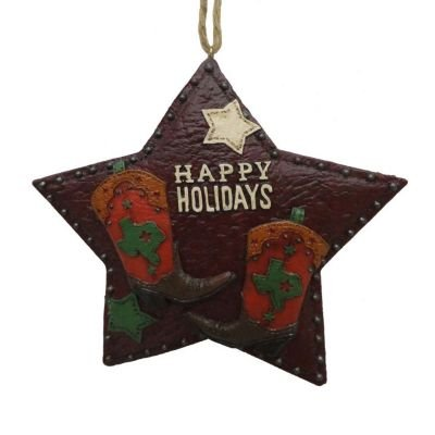 St. Nicholas Square Happy Holidays Christmas Ornament