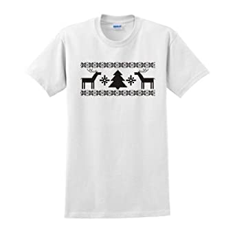 Merry Christmas T-Shirt Small White