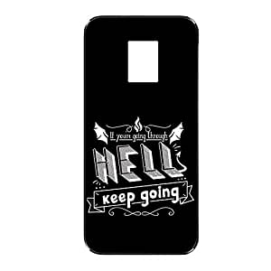 Vibhar printed case back cover for Samsung Galaxy Note Edge ThroughHell