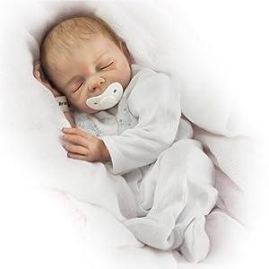 "Denise Farmer Cherish Collectible Lifelike Vinyl Baby Doll: So Truly Real - 18"" by Ashton Drake"
