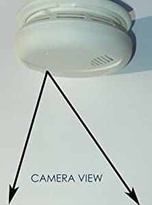Wireless Spy Camera with Wi-fi b/g/n, Recording & Remote Internet Access (Camera Hidden in a Smoke Detector)