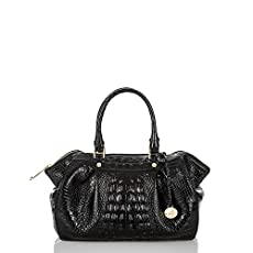 Small Faye Satchel<br>Black Melbourne