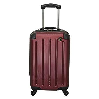 Heys Hardside Rolling Burgundy Suitcase 20 Carry On 4 Motion 21 Clothing