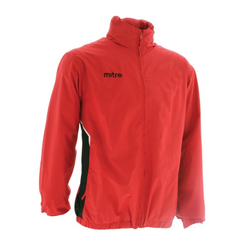 Mitre Oakfield Men's Wet Jacket - Red/Black Sm