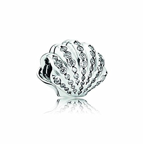Pandora Disney Ariel's Shell with Clear Cubic Zirconia 791574cz