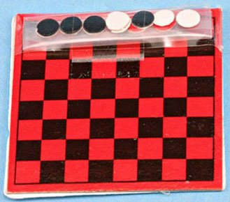 Dollhouse CHECKER SET