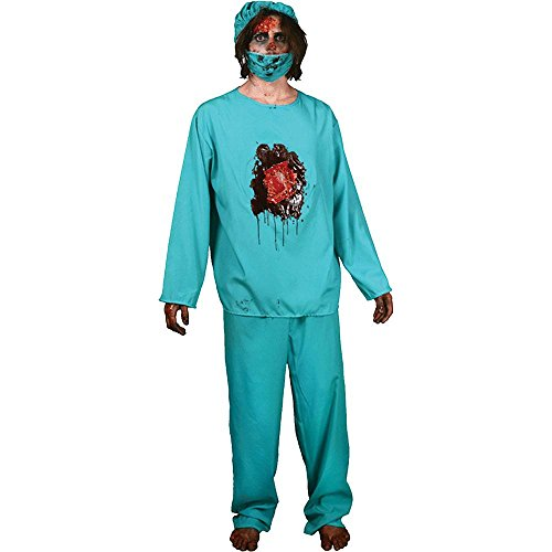 Eat Your Heart Out Zombie Doctor Adult Costume