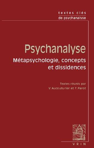 Textes cles de psychanalyse
