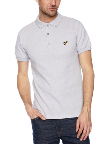 Voi Twistredford Polo Men's T-Shirt Ash X-Large