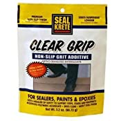 Amazon.com: Seal Krete 40202 Clear Grip Non-Skid Grip Additive for Sealers, Paints & Epoxies: Home Improvement