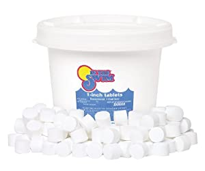 In The Swim 1 Inch Pool Chlorine Tablets 10 Lbs Patio Lawn Garden