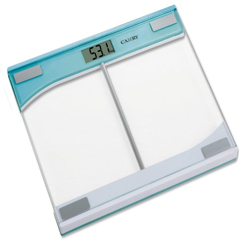 Camry 330LB Large Capacity Digital Bathroom Scale,Auto On,Overload Indication (Blue)
